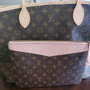 Louis Vuitton Neverfull GM & Daily LV Pouch